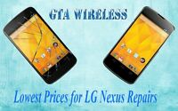 Repair Replace LG Nexus 5 4 Screen Digitizer Glass LCD +1YR WRTY