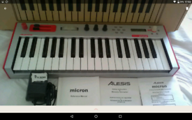Alesis micron synthesizer may px synth