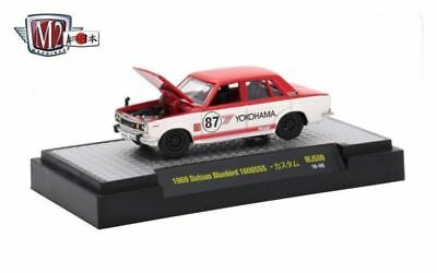 1971 Nissan Skyline GT-R Advan racing ** m2 machines japón 1//3200 mijo 1:64 OVP