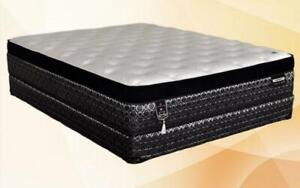 Orthopedic Euro Top Mattress - Crown Royal (Plush) King / Beige & Black