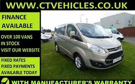 2015 15 Ford Tourneo Custom Limited, Alloys A/C 8 seater TOP SPECK MINIBUS