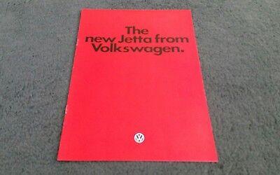 1979 1980 VW JETTA 12/79 UK LAUNCH BROCHURE 1300 1500 1600