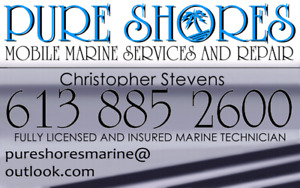 Marine Repair, I/O, Outboard, PWC, licensed and insured.