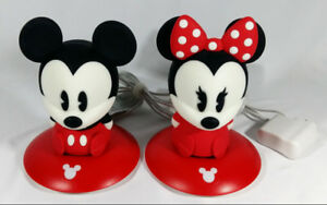 Mickey and Minnie Mouse Silicone Removable Doll Lights Tested