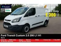 2018 Ford Transit Custom 2.0 290 L1 H1,2.0 1 OWNER, FSH , 59K, EU 6- 1 OWNER, FS