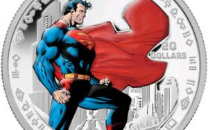 Pièce Superman 2013/Monnaie de collection/75e anniversaire