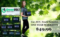 Green Volt Batteries