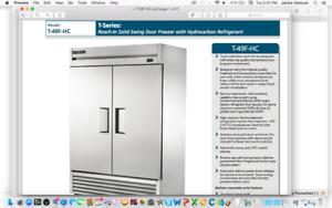 Reach-In Solid Swing Door Freezer with Hydrocarbon Refrigerant