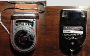 Vintage Sekonic L-6 Light Meter with Original Leather Case