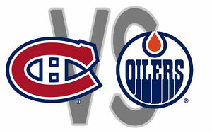 Edmonton Oilers vs Montreal Canadiens Sunday March 12 (5PM)