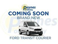 NEW Ford Transit Courier, 1.6TDCi 95PS, Trend, Frozen White + A/C - Pre-Order