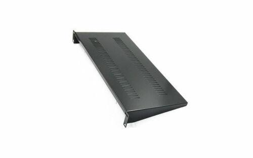 """Raising Cantilever Server Shelf Vented Shelf Rack Mount 19"""" 1U 8"""" Deep Aluminum"""