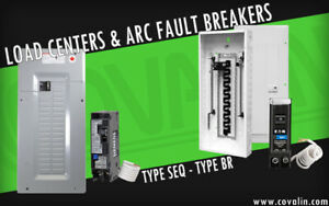 Panels, Devices, AFCI Breakers. - Covalin Electrical Supply