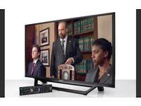 """ALMOST NEW* SONY BRAVIA 32"""" SMART LED FULL HD 1080P FREEVIEW INBUILT CHANNELS"""