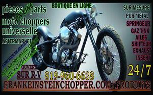 Pieces neuves use sur mesure pour Harley-Davidson