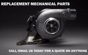 Replacement Brakes, CV Axles, Turbochargers, Suspension & more!