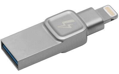 32gb Kingston Data Traveler Bolt Duo Flash Drive, Lightning USB for iPad iPhone