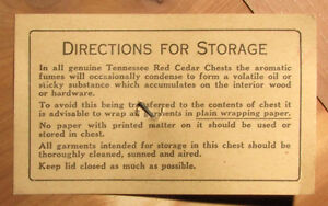 Tennessee Red Cedar (Hope) Chest Kitchener / Waterloo Kitchener Area image 5