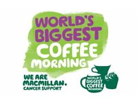 Macmillan Fundraiser Coffee, Cake and Chat morning Wednesday 4th October