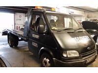 24/7 Car/Van Collection Delivery Recovery Breakdown Transportation Service