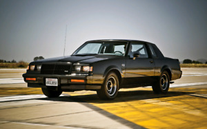 1986-1987 Buick Grand National - T-Type
