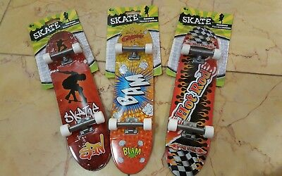 Lot of (3) Hand board 10 inch hand skateboard tech 27cm large finger board toy