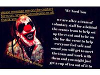yorkshire scare o drome needs you