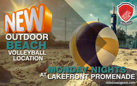 Beach Volleyball @ Lakefront Promenade! New Courts!