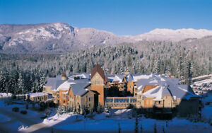 2 nights at 4 star resort in Whistler