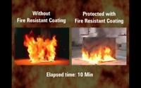 Fire Coat Exposed Foam