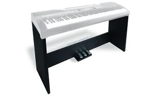 Roland piano wood stand with sustain and damper pedals
