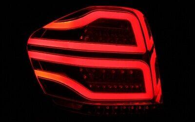 LED BAR RÜCKLEUCHTEN für MERCEDES BENZ W164 05-08 ROT KLAR RED CLEAR LIGHTBAR