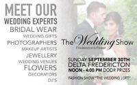 THE WEDDING SHOW - DELTA FREDERICTON - SEPTEMBER 30, 2018