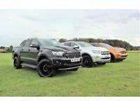 Ford Ranger Wildtrak 213PS Auto All Black Pre Reg £35495 + VAT