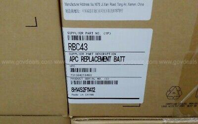 APC Schneider Electric RBC43 Replacement Battery Cartridge UPC 731304218463 NEW
