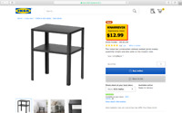 Purchase this table for me at Ikea