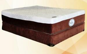 10 Memory Gel Foam Mattress - Comfort Plus King / Beige