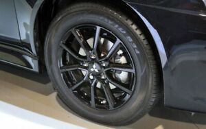 Wanted : Mitsubishi lancer Black edition rims/ anniversary
