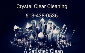 Crystal Clear Cleaning Kingston Kingston Area image 1
