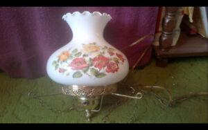 Vintage Hanging Hurricane Lamp - $115