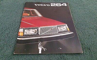 1975 VOLVO 264 260 SALOON DL GL - UK BROCHURE