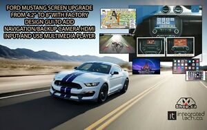 Ford Mustang navigation and Backup Camera HDMI Multimedia Player