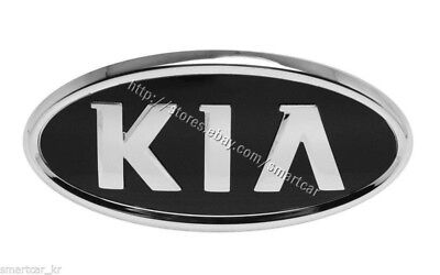 Trunk or Tailgate KIA logo emblem for 2006-2011 KIA Rio Sedan / Rio5 Hatchback
