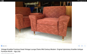 Retro couch and or chair