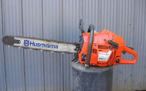 Husqvarna 394XP chainsaw - Great runner!