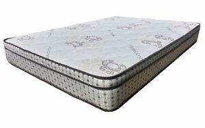EURO TOP MATTRESS TWIN/DOUBLE/QUEEN - FREE SAME DAY DELIVERY