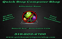 Quick Stop Computer Shop - Fast & Friendly Service