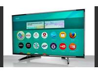 "PANASONIC 55"" 4K UHD SMART WI-FI TV HD FREEVIEW HDR .TX55DX650 ."