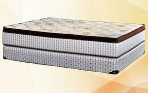 Orthopedic Euro Top Mattress High Density - Medium Firm King / Beige