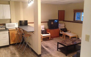 1 Bedroom Basement suite- Fernie
